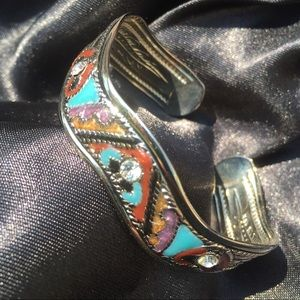 Jewelry - Beautifully colored cuff bracelet.